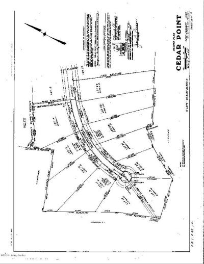 Spencer County Residential Lots & Land For Sale: 23 Cedar Point Rd