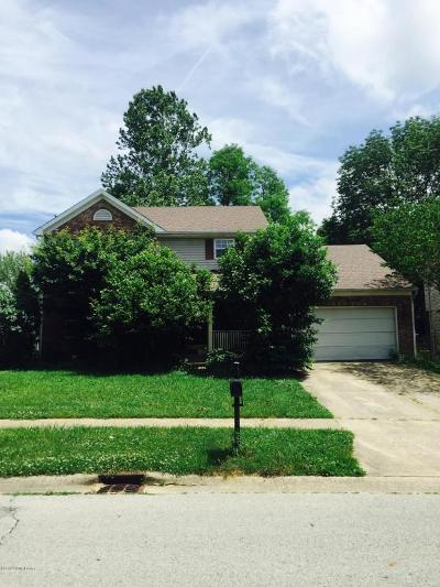Oldham County Single Family Home Active Under Contract: 315 Crystal Wash Dr