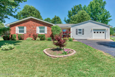 Shelbyville Single Family Home For Sale: 198 Ivy Ln
