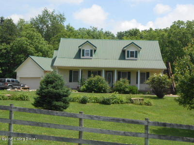 Single Family Home For Sale: 1280 Hazy Downs Rd