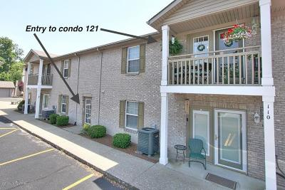 New Albany Condo/Townhouse Pending: 121 Colonial Club Dr