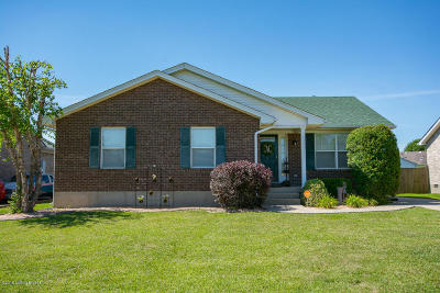 Shepherdsville Single Family Home Active Under Contract: 161 Drake Dr