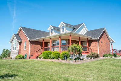 Bardstown Single Family Home For Sale: 3913 Old Bloomfield Rd