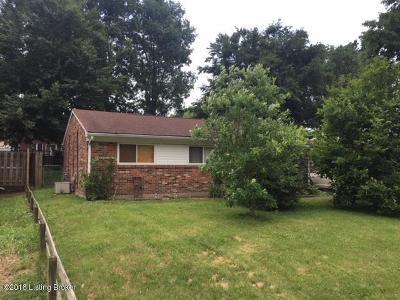 Bullitt County Single Family Home For Sale: 367 Dale Rd
