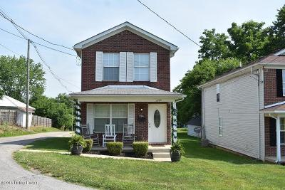 Shelbyville KY Single Family Home For Sale: $120,000