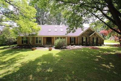 Louisville Single Family Home For Sale: 3118 Collins Ln