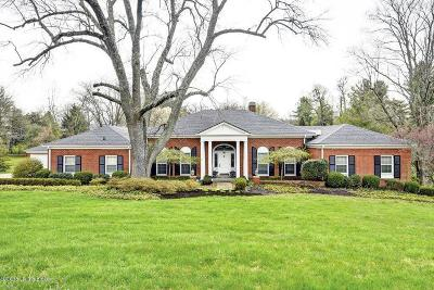 Louisville Single Family Home For Sale: 5814 Aura Rd
