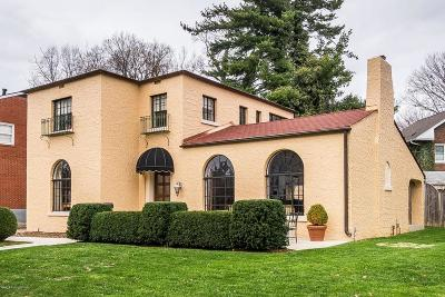 Louisville Single Family Home For Sale: 2225 Strathmoor Blvd