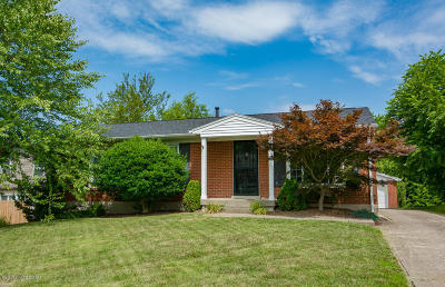 Louisville KY Single Family Home For Sale: $169,000