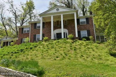 Single Family Home For Sale: 700 Blankenbaker Ln
