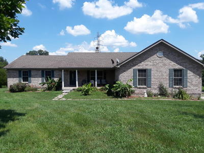 Shepherdsville Single Family Home For Sale: 154 Huber Station Rd