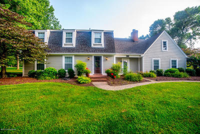 Oldham County Single Family Home For Sale: 1315 Old Taylor Trail