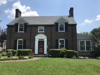 Louisville Single Family Home For Sale: 2326 Strathmoor Blvd