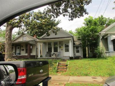 Jefferson County Single Family Home For Sale: 2718 S 6th St