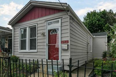 Louisville KY Single Family Home For Sale: $155,000