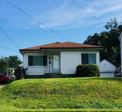 Louisville KY Single Family Home For Sale: $115,000