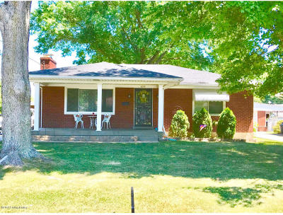 Louisville KY Single Family Home For Sale: $113,000