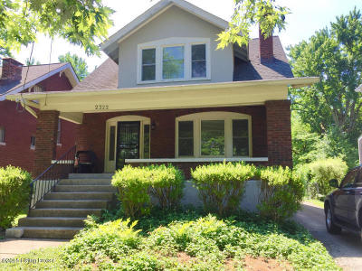 Louisville KY Single Family Home For Sale: $255,000