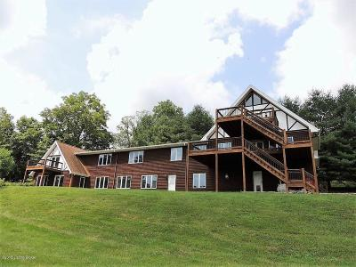 Single Family Home For Sale: 1002 Mulholland Rd