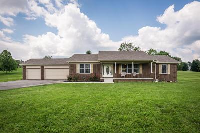 Spencer County Single Family Home For Sale: 2463 Hochstrasser Rd