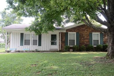 Shelbyville Single Family Home For Sale: 740 Quail Call Dr