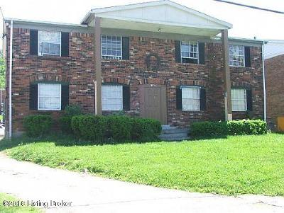 Louisville Multi Family Home Active Under Contract: 3120 Fordhaven