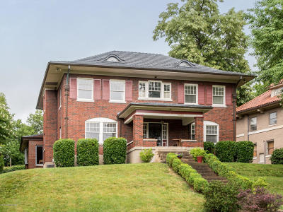 Louisville Single Family Home For Sale: 1626 Cherokee Rd
