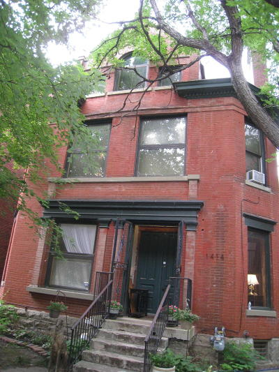 Old Louisville Single Family Home Active Under Contract: 1414 S 1st St