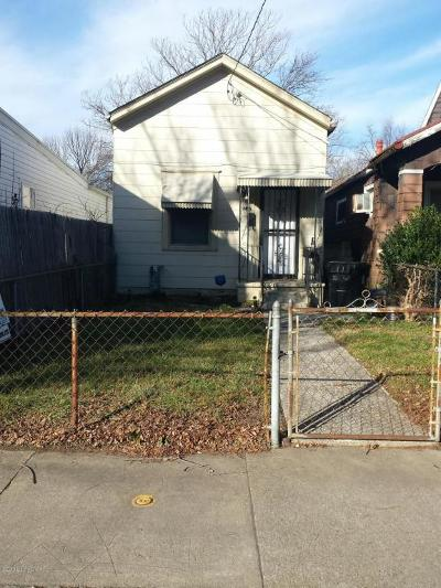 Single Family Home For Sale: 2227 W Market St