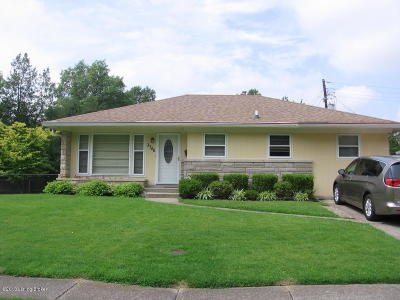 Louisville Single Family Home For Sale: 3746 Rosemont Blvd