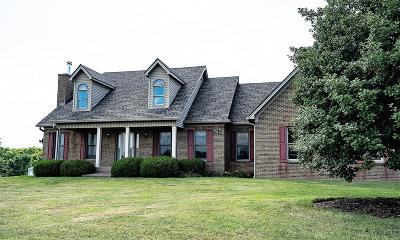 Shelbyville Single Family Home For Sale: 700 Harrington Mill Rd