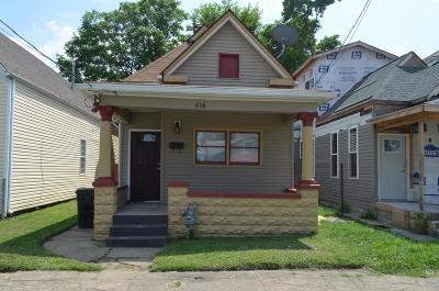 Single Family Home For Sale: 616 E Kentucky St