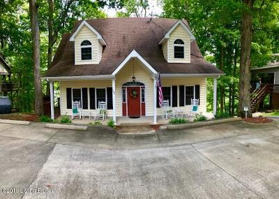 Edmonson County Single Family Home For Sale: 62 Lake Shore Cir