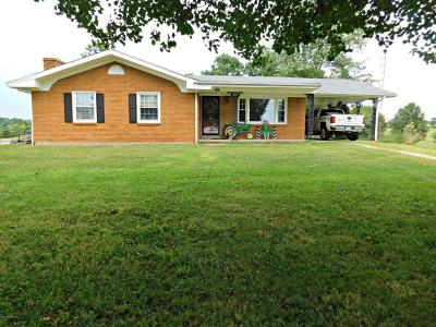 Caneyville Single Family Home For Sale: 4061 Hopewell Rd