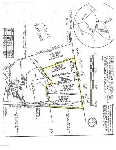 Oldham County Residential Lots & Land For Sale: TRACTS 2-5 E Hwy 42