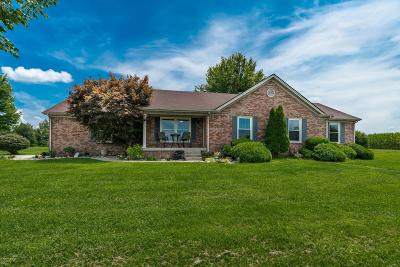 Shelbyville Single Family Home For Sale: 1050 McMakin McMullan Rd