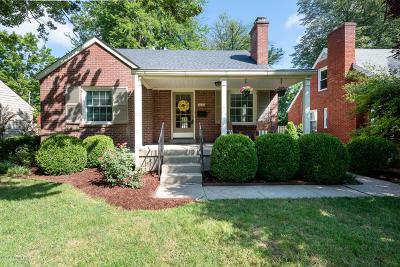 St Matthews Single Family Home For Sale: 3329 Dayton Ave