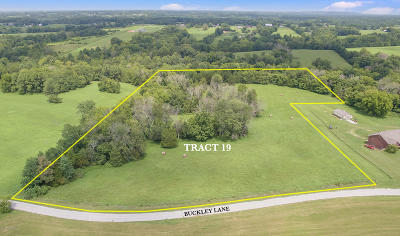 Shelbyville Residential Lots & Land For Sale: Tract 19 Buckley Ln