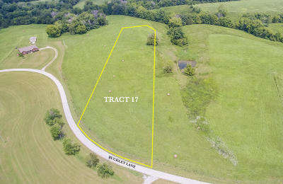 Shelbyville Residential Lots & Land For Sale: Tract 17 Buckley Ln