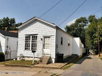 Louisville KY Single Family Home For Sale: $124,950