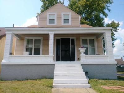Louisville KY Single Family Home For Sale: $84,900