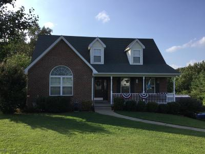 Meade County, Bullitt County, Hardin County Single Family Home For Sale: 139 Shacklette Ct