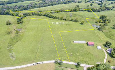 Shelbyville Residential Lots & Land For Sale: Tract 13 Buckley Ln