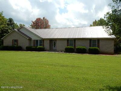 Bullitt County Single Family Home For Sale: 2315 Deatsville Rd