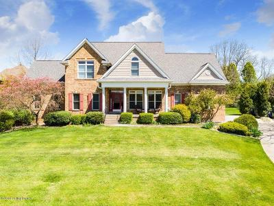 Oldham County Single Family Home For Sale: 12300 Ridgetop Dr