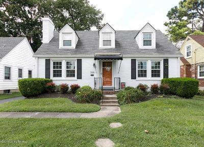 St Matthews Single Family Home For Sale: 304 Fairlawn Rd