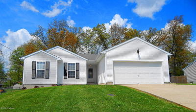 Elizabethtown KY Single Family Home For Sale: $169,900