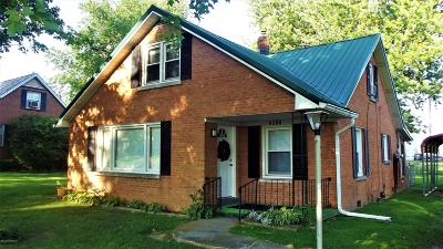 Elizabethtown KY Single Family Home For Sale: $142,000