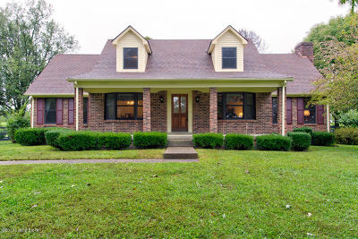 Shelbyville KY Single Family Home For Sale: $585,000