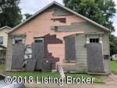 Louisville KY Multi Family Home For Sale: $51,999
